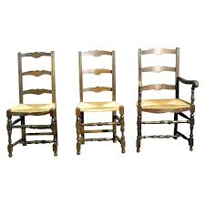 antique ladder back chair antique furniture french rush seat dining chairs
