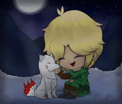 Akita and Lloyd by Novelsycto on DeviantArt