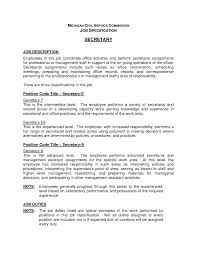 server job description for a resume sample customer service resume server job description for a resume server job description monster secretary job description resume legal secretary