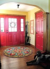 rug for inside front door beautiful red yellow entryway decor foyers room indoor front door rugs