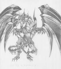 遊戯王レッドアイズダークネスメタルドラゴンを模写してみた Riore