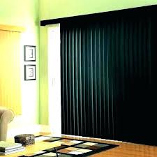 glass door curtains over sliding vertical blinds hanging for curtain