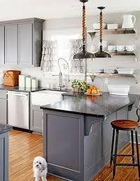 blue grey kitchen cabinets. photo: blue grey kitchen cabinets e