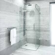 frameless shower door x x shower enclosure with in semi frameless shower door cost