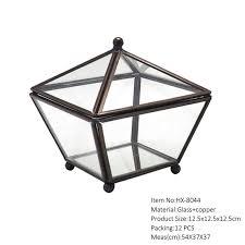 china hot geometric glass terrarium for flower china terrarium glass terrarium