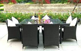 outdoor dining sets for 8. Outdoor Patio Dining Table Sets For 8 Impressive Large  Charming .