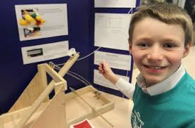 nigel barker a grade four student at glenwood public school nigel barker 10 a grade four student at glenwood public school displays his science fair project on pulleys catapults and newtons at the windsor