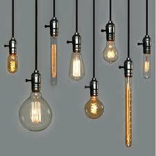 edison bulb pendant industrial cer multi light in exposed style