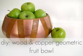 copper fruit bowl wire uk with banana hook hanger