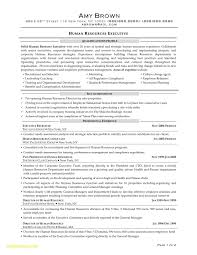 Entry Level Human Resources Resume Fresh Sample Human Resource Cover