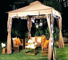 outdoor gazebo chandelier medium size of solar intended for lighting plan 18