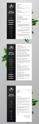 Creative Resume Template Modern Cv Word Cover Letter Templates Fre