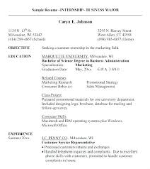 resume examples for internship accounting student resume samples format a example of for internship