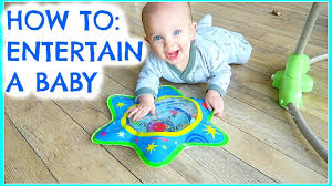 HOW TO ENTERTAIN A BABY (6 MONTHS +) EMILY NORRIS - YouTube