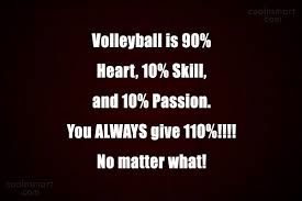 Volleyball Quotes Extraordinary Volleyball Quotes And Sayings Images Pictures CoolNSmart