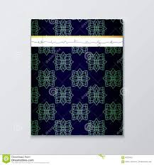 magazine cover geometric patterns cover page template magazine cover geometric patterns cover page template royalty stock photography