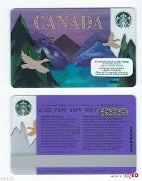 2017 starbucks canada goose reloadable gift card