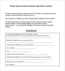handyman estimating software free proposal template free download ny limo info