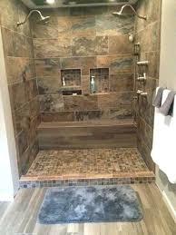 tile for shower porcelain tile shower bathroom shower porcelain chalet mosaic sage mocha wood look tile