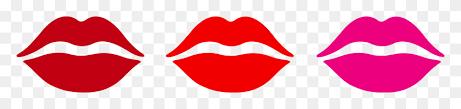 lips clipart kiss mark red lipstick
