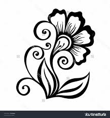 Designs For Drawing Easy 76 Clear How To Draw Flower Designs
