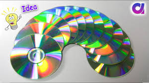 Genius way to reuse old cd | old cd craft ideas | Best out of waste |  Artkala 339