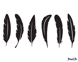 turkey feather clipart black and white. Exellent Feather Il Fullxfull 1380177137 Pikr Turkey Feathers Pictures Crown Throughout Feather Clipart Black And White