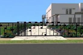 minecraft gate design.  Gate Modern Fence Design Minecraft Intended Gate N