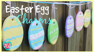 how to make easter egg charms diy easy salt dough easter crafts decorations best friends