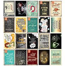 20 Spruchkarten 3 Retro Postkarten Mit Lustigen Sprüchen 20