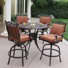 bar height dining table set. Fairmont 5 Piece Bar Height Dining Set With Cushions Table S