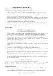 Sample Resume Profile Summary Resume Profile Summary Example