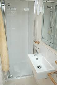 Tiny Bathrooms Designs Very Small Bathroom Arragement Idea With Narrow Shower And White