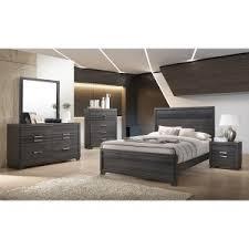 gray bedroom furniture. Perfect Gray TC Home 6 Piece Queen Bedroom Set In Grey B7105 On Gray Bedroom Furniture I