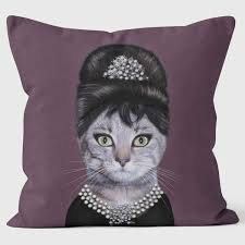 pets rock celebrity cushions fun funky pillows uk made