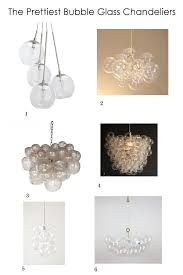 curly loving bubble glass chandeliers megan opel interiors with regard to chandelier ideas 12