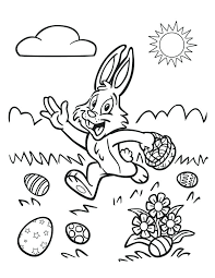 Easy Printable Easter Coloring Pages Religious Coloring Pages Free