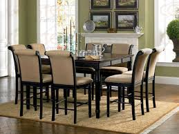 size dining room luxury black set bar high kitchen table and chairs vidrian