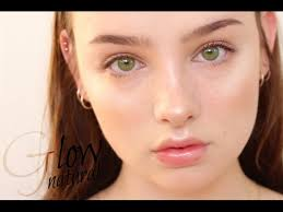 natural daily glowy makeup tutorial sissel ab