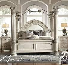 decoration: Black Canopy Bed Unique Bedroom Queen Beds King Frame ...