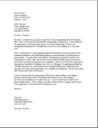 Exemple Cover Letter Example Cover Letter For Resume Pharmaceutical