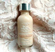 l oreal paris true match super blendable makeup foundation review 1