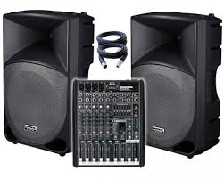 beginner s guide to pa systems part 1 basics digital dj tips the mackie thump is a popular pa for djs the speakers containing the amplifiers meaning there s no need to carry separate amps