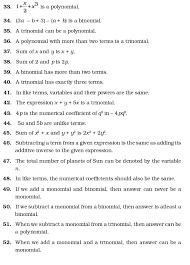 Class 7 Important Questions for Maths – Algebraic Expressions ...