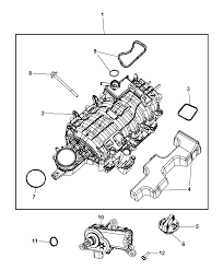 2009 chrysler aspen intake manifold diagram i2229641
