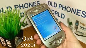 Qtek 2020i - by Old Phones World - YouTube