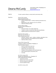 Gallery Of Professional Phlebotomist Resume Template Entry Level