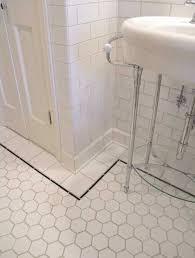vintage bathroom floor tile ideas.  Floor 37 Black And White Hexagon Bathroom Floor Tile Ideas White Gloss Bathroom  Floor Tiles In Vintage I