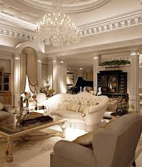 living room chandelier a refined living room with an oversized crystal chandelier with a lot of