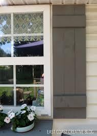 Diy Window Boxes Diy Shutters And Window Box East Coast Creative Blog